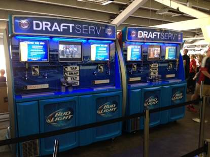 Target Field DraftServ beer station