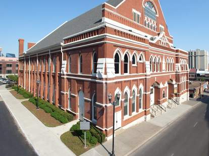 Ryman Auditorium Nash