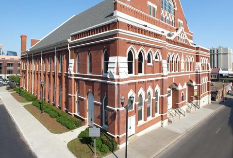 Ryman Auditorium Nash