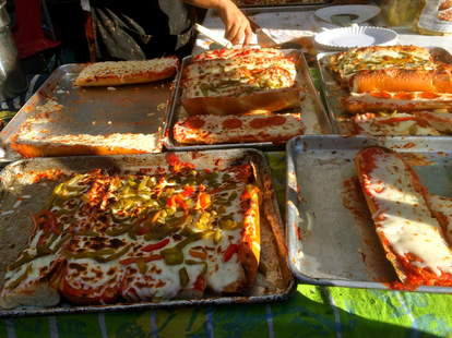 Russom's: the Original French Bread Pizza