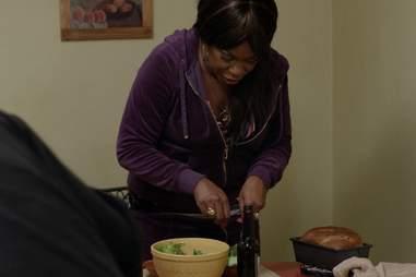 Orange Is the New Black Vee's family dinner