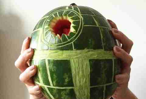 watermelon star wars