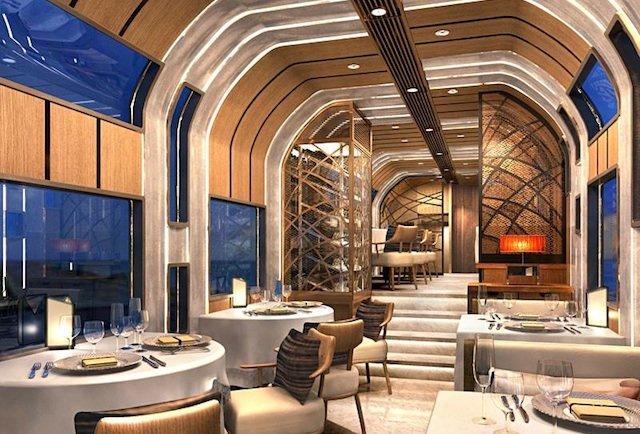 This is what a $50 million Ferrari train looks like