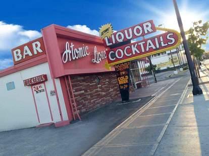 atomic liquors exterior