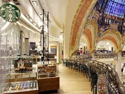 Starbucks Galeries Lafayette Paris