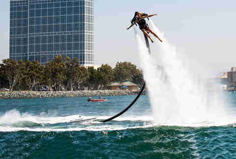 A water jetpack