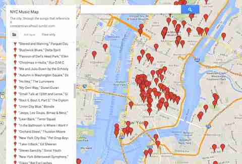 Help build the most badass NYC song reference map ever made