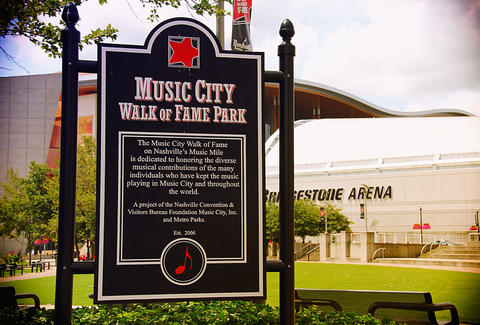 Music City Walk of Fame Park Nash