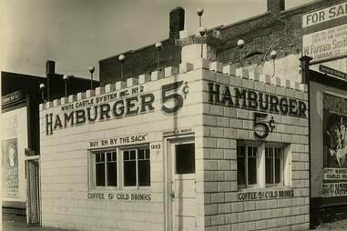 Old White Castle with $.05 burgers