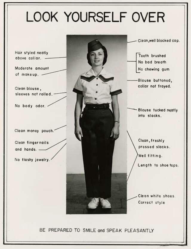 Retro White Castle dress guidelines