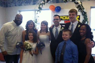 White Castle wedding