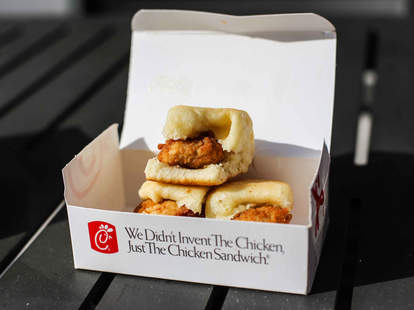 Chick-Fil-A sandwiches