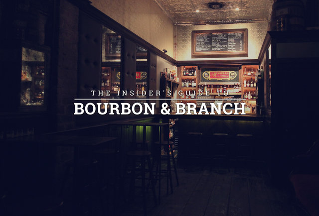 how to get into bourbon and branch main bar library russels room