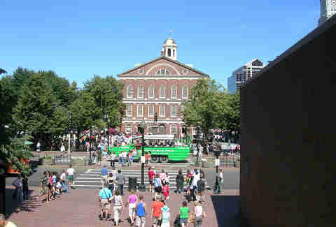 Faneuil Hall 99 Problems with BOS