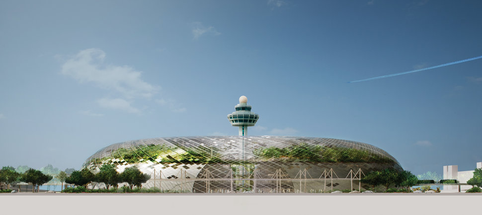 Say hello to the Bio-Dome airport
