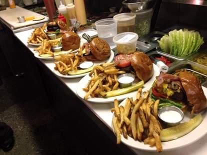 burgers and fries royal tavern