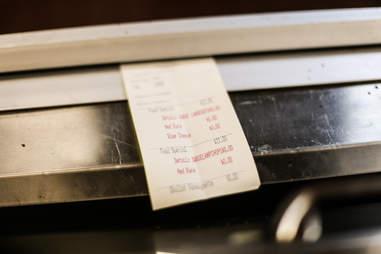 kitchen ticket