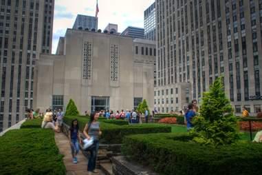 Secret Gardens Rockefeller Center