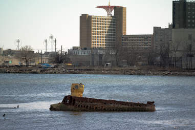 Submarine in Coney Island