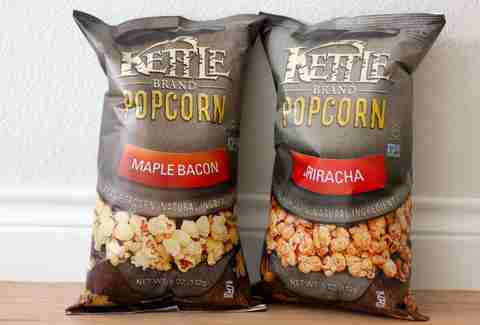 Sriracha and maple bacon Kettle popcorn
