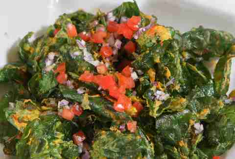 Palak Chaat Signature Dishes DC