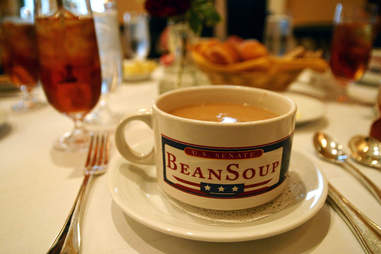 Senate Bean Soup Signature Dishes DC