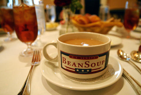 Senate Bean Soup Signature Dishes DC