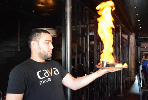 Saganaki (Have) Signature Dishes DC