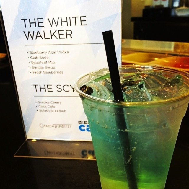 Comic Con White Walker cocktail