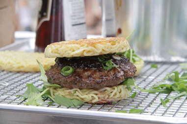 Ramen burger Goldbely