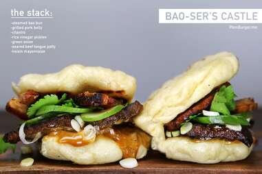 Bao-ser's Castle burger