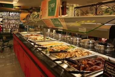 hot salad bar