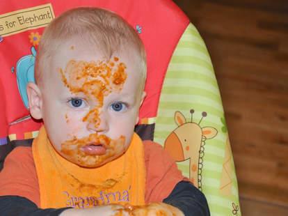 messy eater