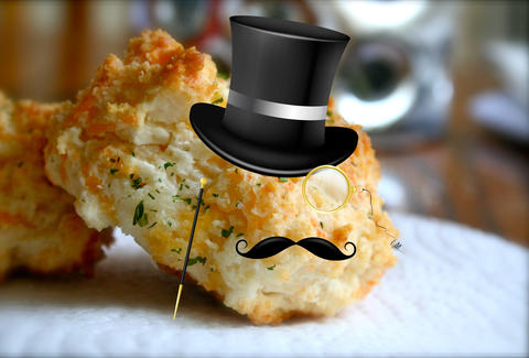 Fancy Red Lobster Cheddar Bay Biscuit