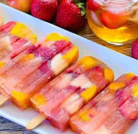 sangria popsicle