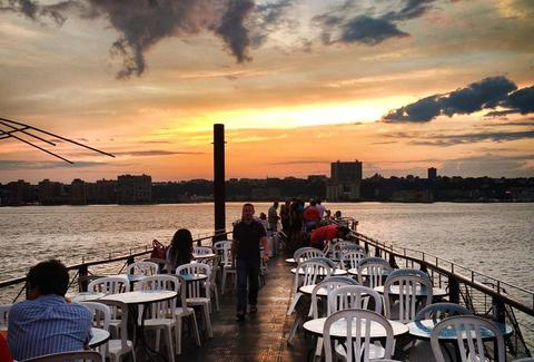 Waterfront bars nyc