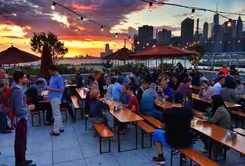 Where to drink on the water nyc