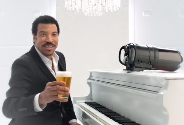Lionel Richie seduces beer drinkers in new Tap King commercial