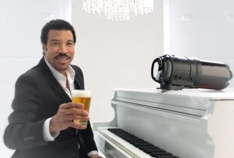 Lionel Richie Tap King commercial
