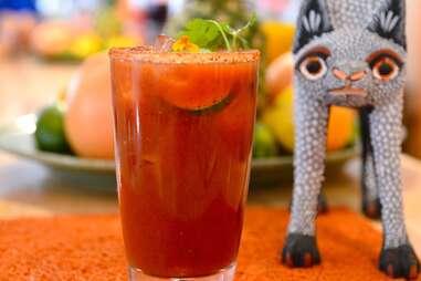 Oyamel Cocina Mexicana Best Bloody Marys DC