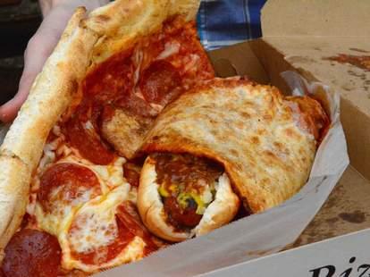 half smoke and pizza dc