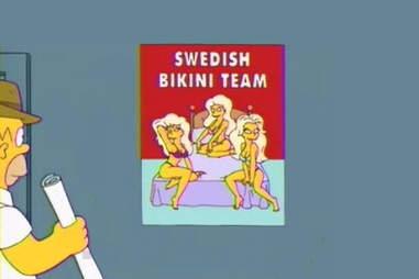 simpsons sweden