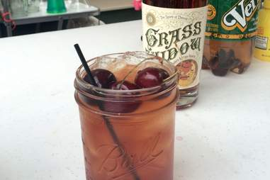 Fort Wayne Cherry Bomb/ Red Wing Widow Most Detroit Cocktails