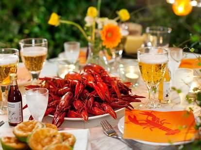 IKEA Swedish crayfish party