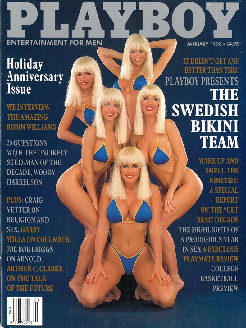 playboy swedish bikini team