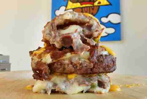 hot pocket burger