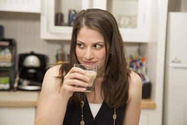 Milk taste test