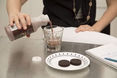 Chocolate milk test