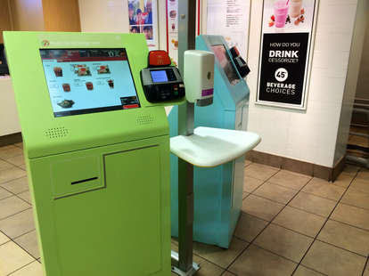McDonald's automated checkout