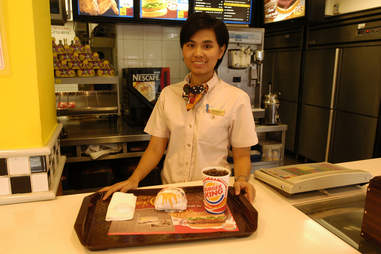 Burger King worker